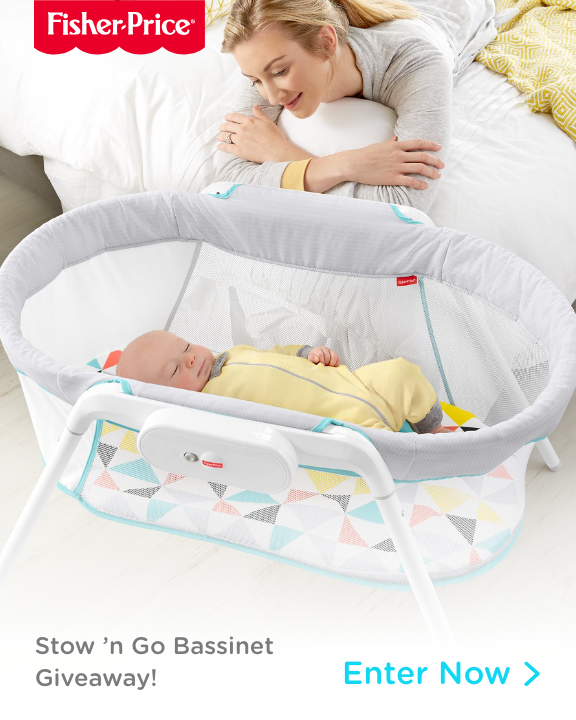 Stow and Go bassinet
