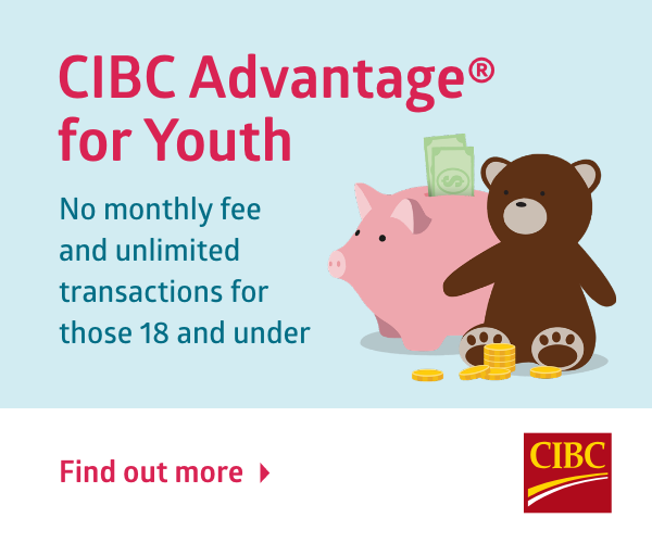 CIBC ad - Youth Account